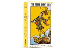 Mazo de tarot para principiantes Radiant Rider Waite pocket edition