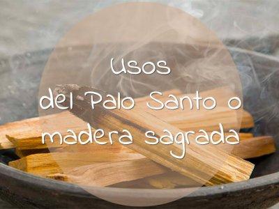 Usos del Palo Santo o madera sagrada